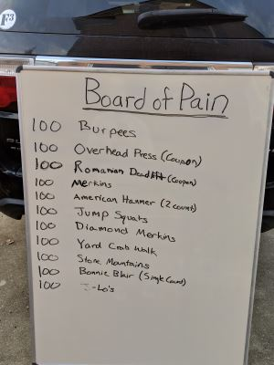 Board of Pain