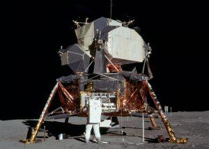 Apollo 11 Lunar Lander, or MillerTime doing pull-ups