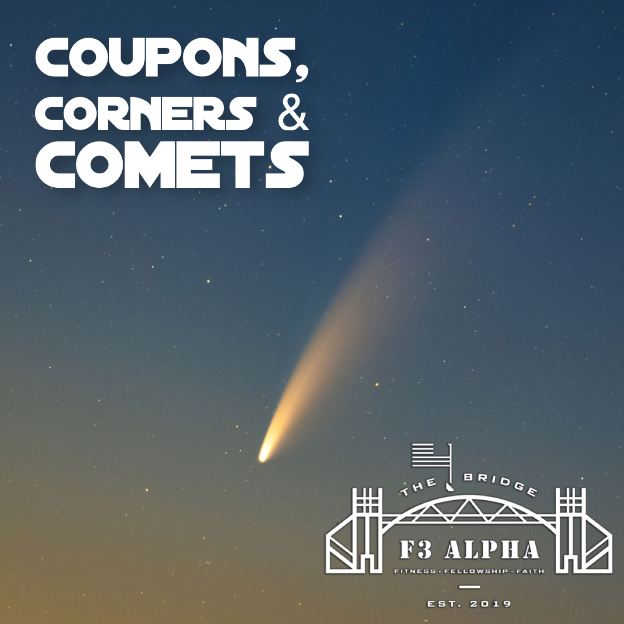 Coupons, Corners and Comets